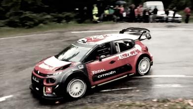 Loeb pone a prueba el Citroën C3 WRC