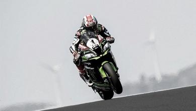 WorldSBK, GP del Portogallo - Paura per Sykes, Rea resta il più veloce