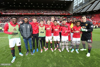 A picture that embodies Man United on a special day for the club and academy