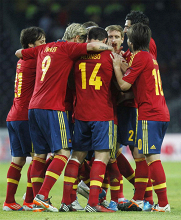 España supera el trámite con facilidad