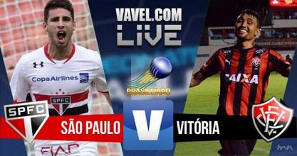 São Paulo vence o Vitória no Campeonato Brasileiro (2-0)