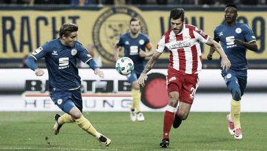 Em jogo disputado, Eintracht Braunschweig busca empate diante do Union Berlin