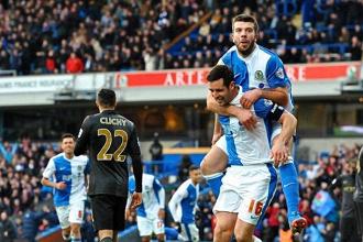 FA Cup : Blackburn - City, 1-1 balle au centre