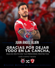 Adiós, Juan Ángel Albín