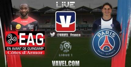 Live Guingamp - Paris, le match en direct