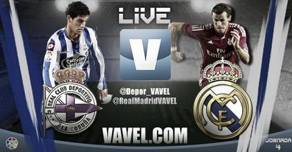 Live Liga BBVA : le match Deportivo la Corogne - Real Madrid en direct