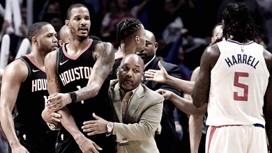 Trifulca en el Clippers- Rockets