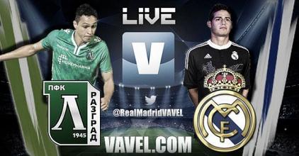 Live Champions League : le match Ludogorets - Real Madrid en direct
