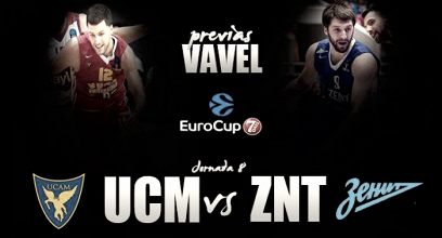 UCAM Murcia-Zenit: ganar para cortar la racha