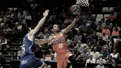 Valencia Basket suda la camiseta para llevarse la victoria ante el San Pablo Burgos