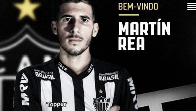 Zagueiro uruguaio Martín Rea é oficializado como novo reforço do Atlético-MG