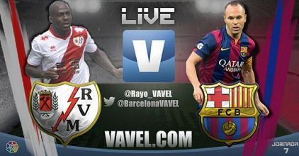 Live Liga BBVA : le match Rayo Vallecano - FC Barcelone en direct