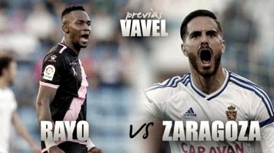 Previa Rayo Vallecano - Real Zaragoza: despedir el año con victoria