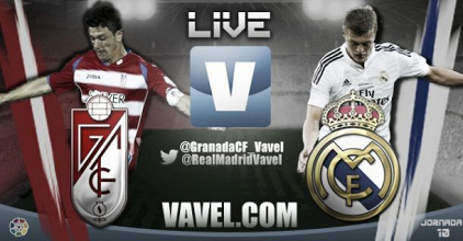 Live Liga BBVA : le match Grenade - Real Madrid en direct