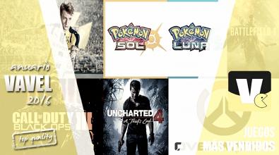 Anuario VAVEL Videojuegos 2016: los juegos más vendidos de 2016