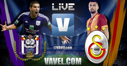 LIVE Ligue des Champions: Anderlecht - Galatasaray en direct