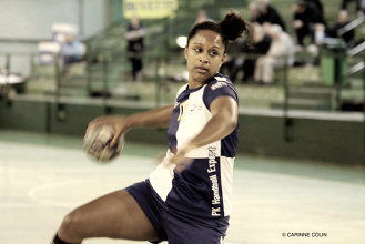 Angélique Spincer, coach de la Stella St-Maur Handball.