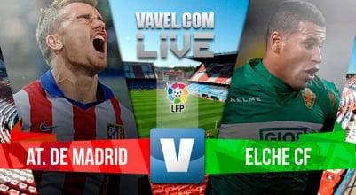 Resultado Atlético de Madrid - Elche en Liga BBVA 2015 (3-0)