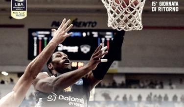 LegaBasket - Trento ferma Avellino e si prende il quarto posto