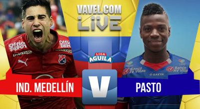 Resumen Deportivo Independiente Medellín 4-1 Deportivo Pasto por la Liga Águila 2017