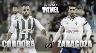 Córdoba CF - Real Zaragoza: necesitan respirar