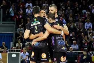 Volley M - La Lube Civitanova Marche prevale facilmente sulla Diatec Trentino formato trasferta