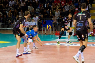 Volley M - La Lube stacca il biglietto per la Final Four di Champions League