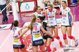 Volley F - L'Igor Gorgonzola Novara sfata il tabù scudetto ed è Campione d'Italia