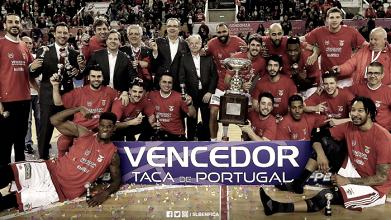 Benfica conquista a Taça de Portugal de Basquetebol