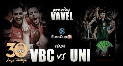 Valencia Basket - Unicaja de Málaga: la Eurocup se decide en la Fonteta