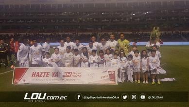 Liga Deportiva Universitaria suma un empate ante Deportivo Cuenca en Casa Blanca