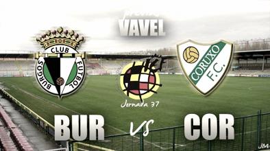 Burgos CF - Coruxo FC: Resguarnecerse en el Plantío
