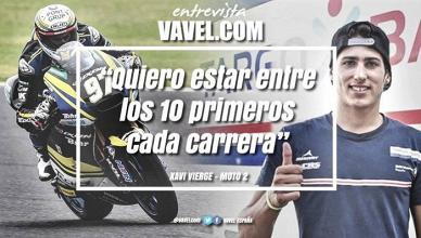 """Entrevista. Xavi Vierge: """"Quiero estar entre los diez primeros cada carrera"""""""