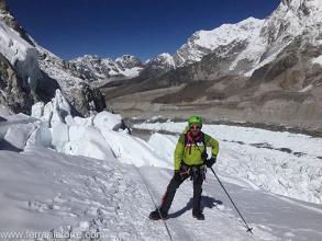 Ferran Latorre y Kilian Jornet a punto de atacar el Everest