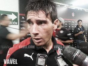 """Matías Alustiza: """"Un gol allá, nos daría mucha ventaja"""""""