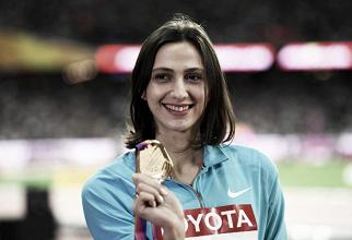 World Athletics Championships: Maria Lasitskene wins gold to retain her High Jump title