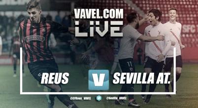 Resumen Reus 2-1 Sevilla Atlético