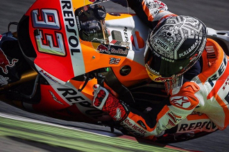 MotoGP - I test di Barcellona si concludono con Marquez in testa
