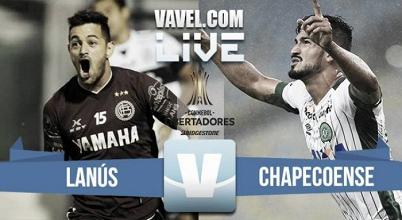 Lanus vs Chapecoense en vivo por la Copa Libertadores (1-2)