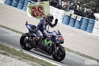 Pole para Viñales y triplete para Yamaha en Le Mans