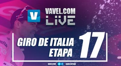 Etapa 17 del Giro de Italia EN VIVO online: Tirano - Canazei 2017