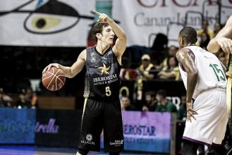 El Canarias se aferra a la serie tras un partido muy completo