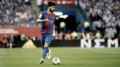 Barcelona: André Gomes, de médio a lateral