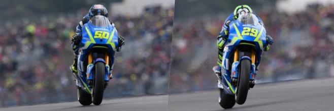 MotoGp, Test di Valencia - Giornata nera in Suzuki: Rins e Iannone out