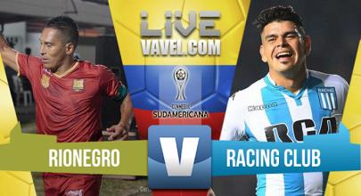 Rionegro Aguilas fue eliminado por Racing en la CONMEBOL Sudamericana 2017 (1-1)