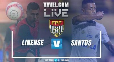 Linense perde para o Santosno Campeonato Paulista 2018 (0-3)