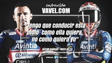 """Entrevista. Héctor Barberá: """"Tengo que conducir esta moto como ella quiera, no como quiera yo"""""""
