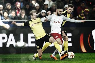 Un guapo Salzburgo hace historia y elimina a un irreconocible Dortmund