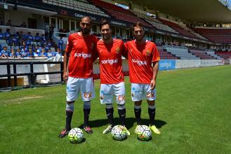 Xisco Hernández, Fali y Palanca ya visten de grana