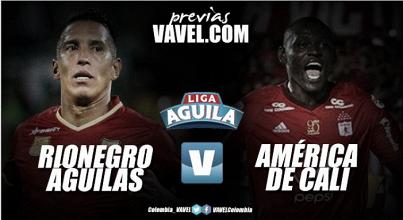 Rionegro Águilas vs América: buscando volar alto en el incio de la Liga